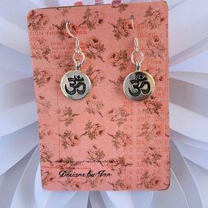 Yoga Charm Earrings By: Design by Jan